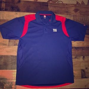 New York Giants polo shirt NFL NY